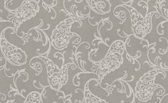 Albany Luna (FD66507) - Albany Wallpapers - A beautiful all over floral trail in a hand painted effect and metallic highlights. Showing in off white on silver/grey. Other colour ways available. Please request a sample for true colour match. Paste-the-wall products.