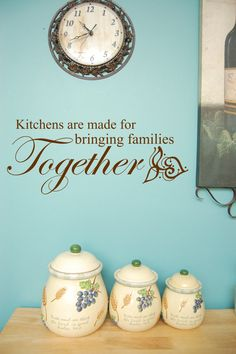 Kitchen decal Bible verse decal Wall by InspirationalDecals, $15.99
