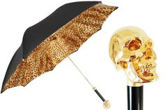 Manual opening double cloth umbrella 100% Polyester - Gilt Plated Resin handle Length: 93cm - Diameter: 102cm Handmade in Italy
