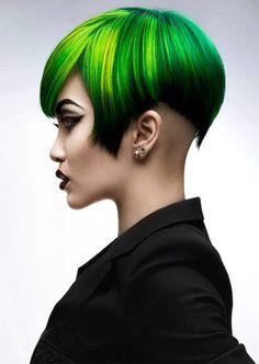 Verde que te quiero verde ....