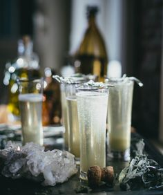 Holiday Cocktail Recipe: Ginger Sage Prosecco by Beth Kirby