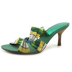 Stiletto Sandales talon Slide Chaussures Femme tissu (plus de couleurs) – CAD $ 23.81
