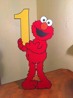 Sesame Street Elmo Decoration Large Size standee Elmo First