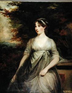 Lady Elizabeth Howard, Duchess of Rutland by John Hoppner
