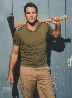 Chris Pratt as Lumberjack?  I'm done for...