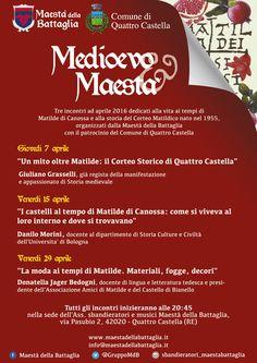 Italia Medievale:Medioevo&Maestà – Serate medievali Quattro Castella