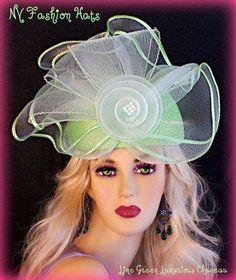 1c572955b1fe0 38 Best Donna Vinci Couture Church Hats images
