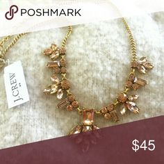 J. CREW Peach Flower Necklace J. CREW Peach Flower Necklace  New!  More details to come. J. Crew Jewelry Necklaces