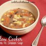 Slow Cooker Santa Fe Chicken Soup