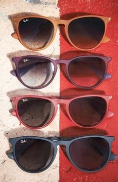 Ray-Ban Wayfarer's - classic sunglasses that never go out of style & flatter virtually every face.