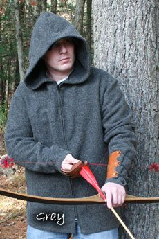 G. Fred Asbell Traditional Archery Wool Pullover in blanket weight