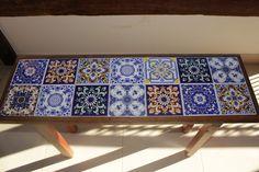 quadro com azulejos antigos - Pesquisa Google