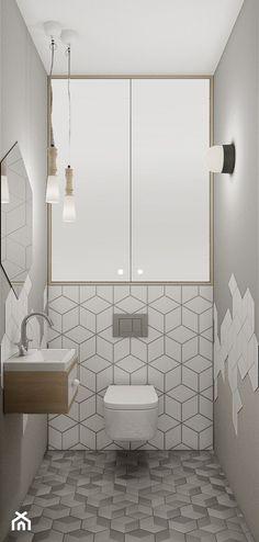 Giełda Niebieskośći - Mała łazienka bez okna, styl nowoczesny - zdjęcie od EG projekt - homebook