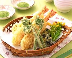 How to make quick and easy authentic Japanese tempura batter with excellent results. Recipe requires only three ingredients: egg, water, and flour.
