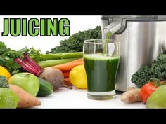 ▶ Juicing & Blending For Health - YouTube 46:20 by John Bergman ... and see how to open a coconut lol.  Natural Nutrition Health.