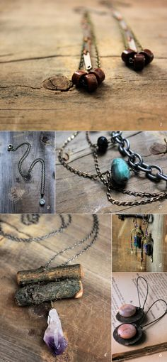 Love the amethyst necklace--jewelry by Cloven / featured on dearestnature.com