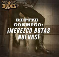 Que sean #BotasRudel por favor