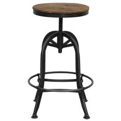 "Classic Home Akron 25"" Adjustable Bar Stool"
