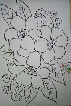 Pin By Brenda Labauve On My Pins Fabric Paint Designs Flower Fabric Painting Designs Quick And Easy Painting Project Design Super Drawing Patterns Ideas Fabrics 15 Ideas Drawing Fabric Diversos…Read more of Fabric Painting Patterns Hand Embroidery Patterns, Embroidery Art, Embroidery Stitches, Pencil Art Drawings, Easy Drawings, Painting Patterns, Fabric Painting, Mosaic Patterns, Flower Patterns