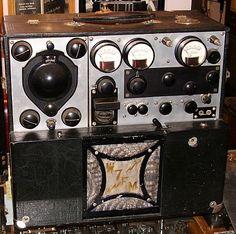 Pre-WWII Ham Gear; W7FM - Homebrew Transmitter-Receiver (TX-RX)