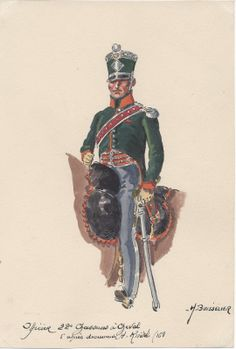 Officer 22nd Chasseurs a Cheval