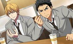 """""""KiKasa"""" screenshots from """"Kuroko No Basket Mirai E No Kizuna"""" 3DS game"""