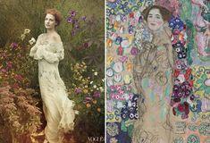 En images : quand la mode rend hommage à l'art