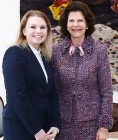 Queen Silvia Nursing Award is given to Natalia Duszenska