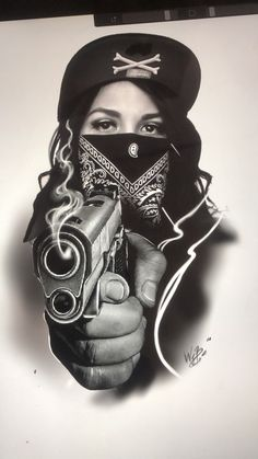 Chicanas Tattoo, Skull Girl Tattoo, Girl Face Tattoo, Tattoo Drawings, Small Tattoos, Tattoos For Guys, Tattoos For Women, Voodoo Doll Tattoo, Chicano Tattoos Sleeve