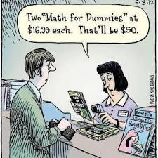 """I am mathematically """"challenged"""".and after a college Math course, this was a good way to add a little humor to an otherwise stressful time.passed on to me by a friend who took the course with me, and also has math """"issues"""". Funny Math Jokes, Nerd Jokes, Funny Humor, Memes Humor, Math Tutor, Math Teacher, Teacher Jokes, Math Classroom, Teacher Resources"""