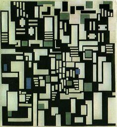 Doesburg, Theo van (1883-1931) - 1917-18 Composition IX (Gemeentemuseum Den Haag, The Hague) by RasMarley, via Flickr