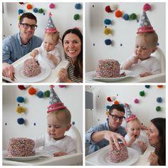 MATILDAS FIRST BIRTHDAY PARTY