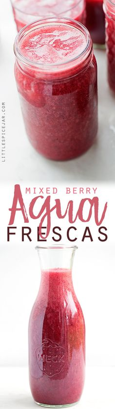 Mixed Berry Agua Fre