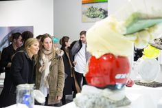Exposition Substance, Head – Genève 2006-2012, présentée à artgenève du 31 janvier au 3 février 2013. ©Rebecca Bowring Ice Cream, Desserts, Food, Art, Radiation Exposure, No Churn Ice Cream, Tailgate Desserts, Craft Art, Gelato