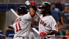MLB: Boston remonta ante T.B. con seis en el 8vo y extienden a ocho su cadena de victorias