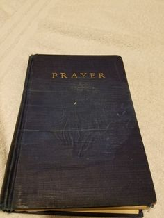 Awesome 1931 Vintage book -Prayer By O. Hallesby Ph. D