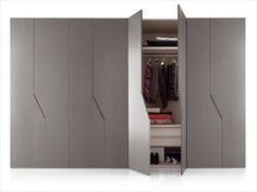 Lacquered wardrobe DIAGONA   Wardrobe - Novamobili