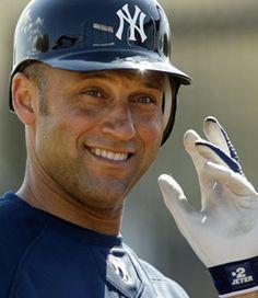 Jeter....have I mentioned I <3 him!!  Lol