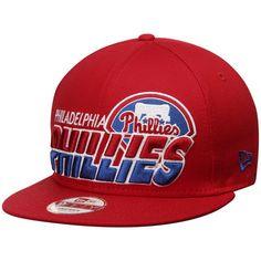 New Era Philadelphia Phillies Red Team Horizon 9FIFTY Snapback Adjustable  Hat 1f24a10f7c3a