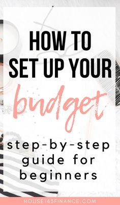 How to Set up a Budget: A Guide for Beginners + Free budget printable! - Advice From Ashley - Finance tips, saving money, budgeting planner Making A Budget, Create A Budget, Making Ideas, Budget Help, Living On A Budget, Family Budget, Frugal Living, Home Budget, Planning Budget