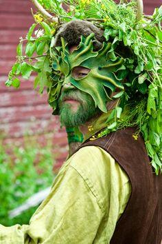 Druid at the The Annual May Day Fairie Festival │ Glen Rock, PA │ Barry Kidd Photography Beltane, Glen Rock, May Days, Festivals Around The World, Sabbats, Renaissance Fair, Green Man, Faeries, Masquerade