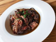 Crazily Good Octopus and Red Wine Stew
