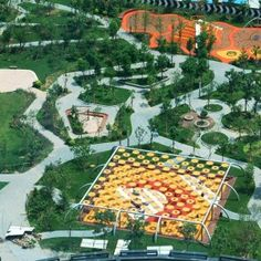 Indigo Park Playgrounds by Ballistic Architecture Machine (BAM) « Landscape Architecture Works | Landezine