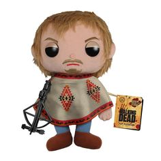 The Walking Dead, Daryl Dixon,Nerd Approved, Plush Toys, Pre-order now to get the toys in July.