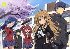 I want an anime with a beautiful ship, something like toradora. Anime Toradora, Manga Anime, Fanart Manga, Fanarts Anime, Anime Guys, Anime Characters, Otaku Anime, Toradora Season 2, 3d Wallpaper Tiger