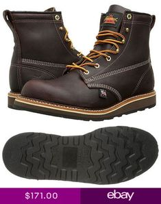 f37401d17c6f 814-4516 THOROGOOD AMERICAN HERITAGE SPORT BOOT NON SAFETY PLAIN TOE