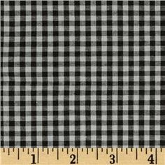 gray/black gingham