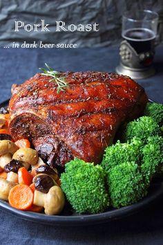 Angellove's Cooking: Печено свинско с тъмна бира / Dark Beer Pork Roast...