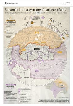 Bhutan: Between China and India from Le Monde Shillong, Area Map, Bhutan, Vintage World Maps, India, Twitter, Relationship, History, China