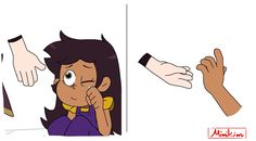 "MimiKim🦉🏠🇵🇭 on Twitter: ""#toh #Lumity #lumityfanart Short Comic: ""Little Lumity AU""🧙 a thread 1/4… """